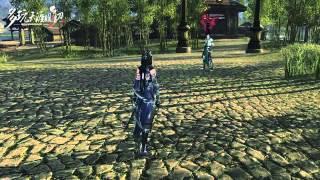 getlinkyoutube.com-Moonlight blade Online-Assassin Skills(wu du)