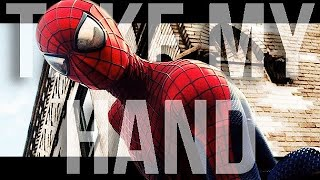 getlinkyoutube.com-The Amazing Spiderman | Simple Plan - Take my hand | Music Video