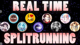 getlinkyoutube.com-Agar.io - ZT Splitrunning Real Time