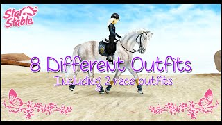 getlinkyoutube.com-★ 8 Different Outfits ★ - Star Stable Online
