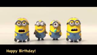 getlinkyoutube.com-MINIONS Happy Birthday SONG