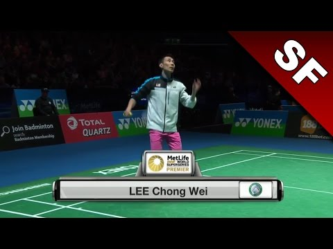 Yonex All England Open 2017 | Badminton SF | Lee Chong Wei vs Chou Tien Chen [HD]