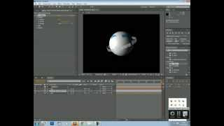 Revolving text around a sphere after effects tutorial