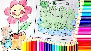 getlinkyoutube.com-DIBUJOS PARA COLOREAR Pasatiempos para niños|Coloring for Kids