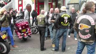 getlinkyoutube.com-Harley Day Amsterdam 2011 - Hells Angels meet Satudarah (1/5)