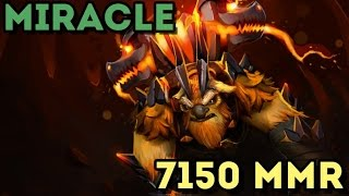 getlinkyoutube.com-Miracle 7150 MMR Plays EarthShaker - Ranked Match Gameplay ! Dota 2
