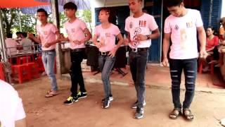 getlinkyoutube.com-Nhóm Múa Khmer Tân Uyên Đi Show Đám