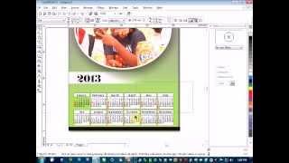 getlinkyoutube.com-HOW YOU GO TAKE DESIGN CALENDER USING COREL DRAW
