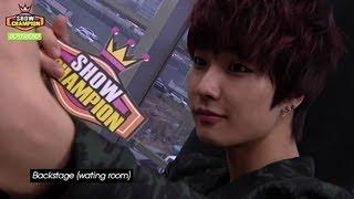 Show Champion BackStage - BoyFriend, 쇼챔피언 백스테이지 - 보이프렌드 width=