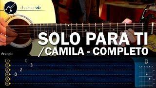 """getlinkyoutube.com-Cómo tocar """"Solo Para Ti"""" de Camila COMPLETO en Guitarra (HD) Tutorial - Christianvib"""