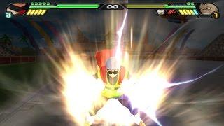 getlinkyoutube.com-Great Saiyaman Gohan transforms into a Super Saiyan to avenge Videl Vs Spopovitch (Tenkaichi 3 Mod)