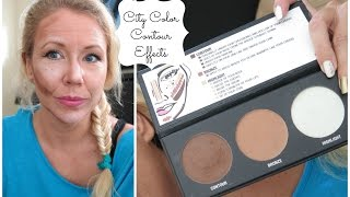 getlinkyoutube.com-Watch me contour (for the first time) with City Color Contour Effects