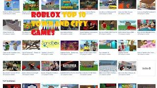 getlinkyoutube.com-ROBLOX Top 10: Town and City Games!