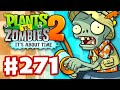 Plants vs. Zombies 2: It's About Time - Gameplay Walkthrough Part 271 - Big Wave Beach Part 2! (iOS)