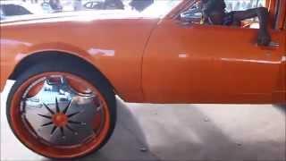 "getlinkyoutube.com-Orange Box Chevy Caprice On 30"" DUB Ganja Floaters"