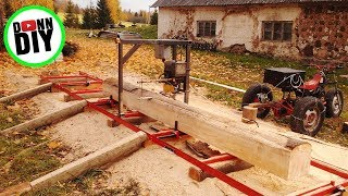 getlinkyoutube.com-Homemade Chain Sawmill
