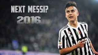 getlinkyoutube.com-Paulo Dybala - Next Messi? ● Season Review ● 2016 HD