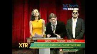 getlinkyoutube.com-El Reverendo HDP  y Margaret Cifuentes del staff de Mario Marinho en TIEMPO EXTRA de tyc sports