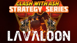 getlinkyoutube.com-Clash Of Clans - 3 Star PentaLavaLoon without Archer Queen (TH9)