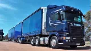getlinkyoutube.com-Scania Streamline B-Triple Review