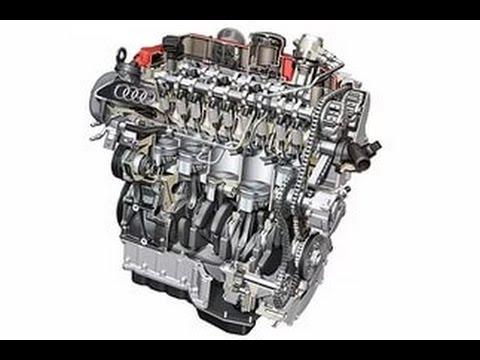 Звук работы двигателя ADR 1,8 литра