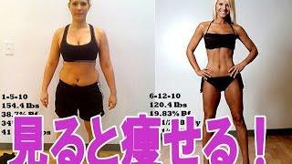 getlinkyoutube.com-ダイエットのモチベーションアップ!痩せるとこんなに変わる!ビフォーアフター