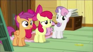 """getlinkyoutube.com-My Little Pony: S5E18 Crusaders of the Lost Mark """"Tiara at the clubhouse"""""""