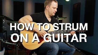 getlinkyoutube.com-How To Strum On A Guitar