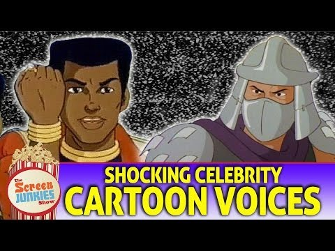 Shocking Celebrity Cartoon Voices!