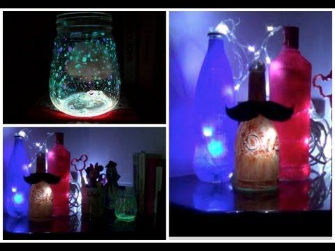 DIY: Luminárias divertidas (2 tipos)