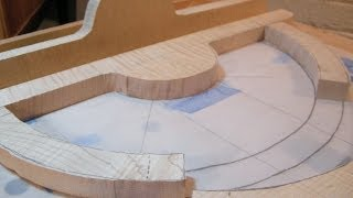 getlinkyoutube.com-Shaping wood with hand tools - The Architect's Table part seven.