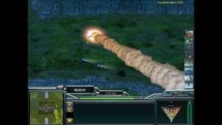 getlinkyoutube.com-Command & Conquer General Zero Hour (Project Raptor Mod) USA