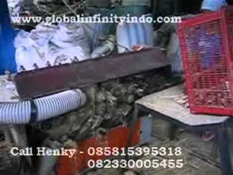 Mesin Tusuk Sate - Serut Bambu