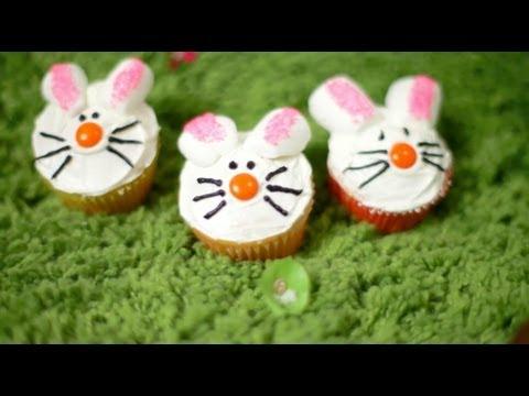 Jak dekorować babeczki na Wielkanoc: owieczki, króliczki i gniazdka - Allrecipes.pl