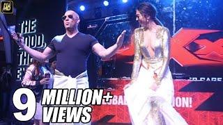 getlinkyoutube.com-Deepika Teaches SRK's Lungi Dance To Vin Diesel - What Happens Next Will Blow Your Mind