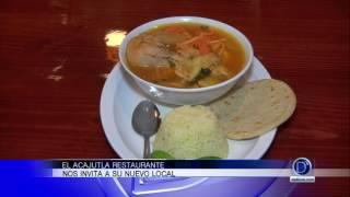 Gaby Romero se fue a un restaurant latino de la región. Acajutla Restaurant