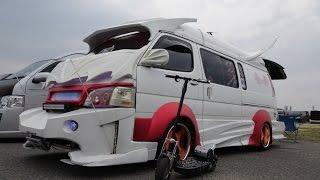 getlinkyoutube.com-(4K)TOYOTA HIACE VANNING custom modified ハイエース・バニングカスタム  - スーパーカーニバル2015