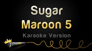 getlinkyoutube.com-Maroon 5 - Sugar (Karaoke Version)