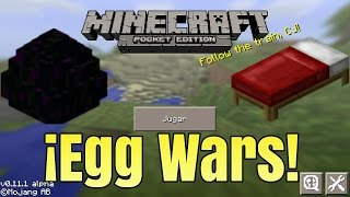 getlinkyoutube.com-Egg Wars en Minecraft Pe | ¡Victoria!