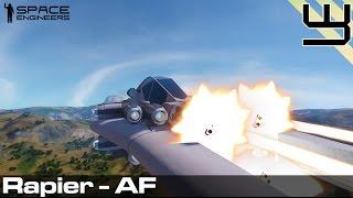getlinkyoutube.com-Space Engineers - High Maneuverability 'Rapier' Atmospheric Fighter