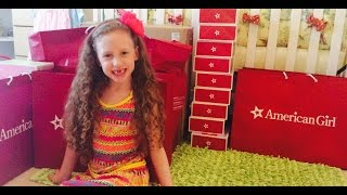 getlinkyoutube.com-AG American Girl Doll Store Haul Video! Unboxing Lea Clark Doll! Review by New Toy Collector Family
