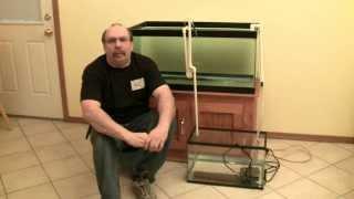 getlinkyoutube.com-Aquarium Filter Series: 8/8: DIY Hang on Back Overflow for Aquariums