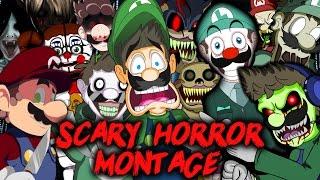 getlinkyoutube.com-LUIGIKID - SCARY HORROR GAME MONTAGE [HALLOWEEN 2016 SPECIAL]
