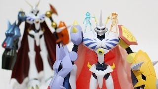 [3/3]Digimonデジモン Figures,D-Arts vs SHF Omegamon/Omnimon(オメガモン)-Comparison Review(比較レビュー)