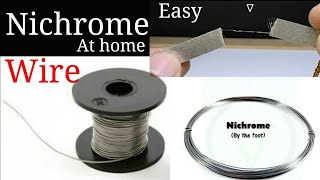 how to find nichrome wire,uses of nichrome wire.💥💥