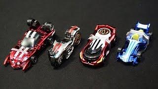 getlinkyoutube.com-仮面ライダー ドライブ キラキラメッキミニカー2 Kamen Rider Drive Kirakira Plating Mini Car 2