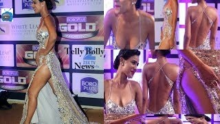 Nia Sharma Exposed Her Hot Asset In High-Cut Dress
