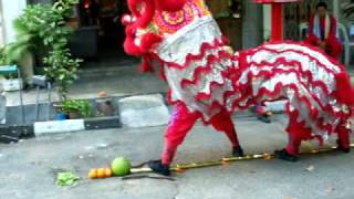 getlinkyoutube.com-Fu Joh Seah , Ipoh Lion Dance2010