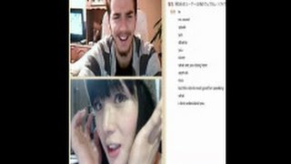 getlinkyoutube.com-海外のイケメンは日本の女装が大好きだったww~chat roulette~