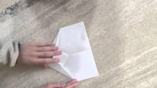 世界一飛ぶ紙飛行機の作り方